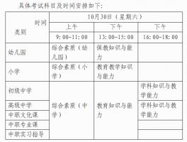 师大在线广西壮族自治区2021年下半年中小学教师资格考试笔试公告